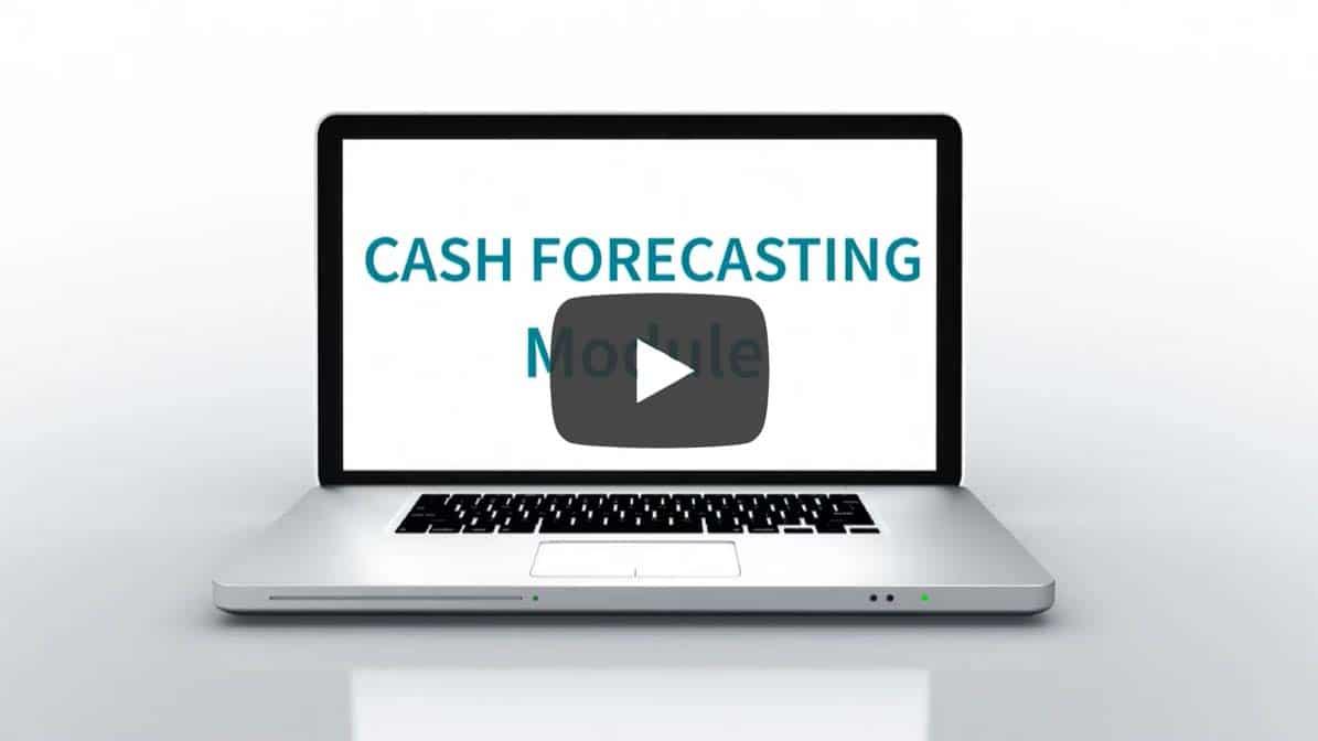 Cash forecasting module Iziago