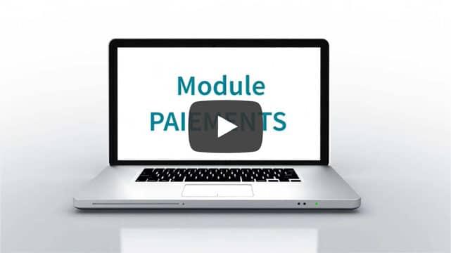 Vidéo module paiements